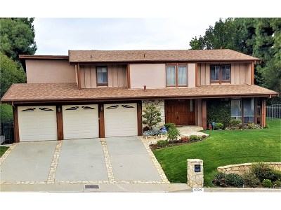 Woodland Hills Single Family Home For Sale: 4225 Michelangelo Avenue