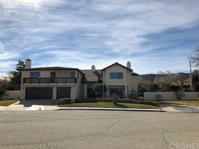 Palmdale Single Family Home For Sale: 5352 Court Place