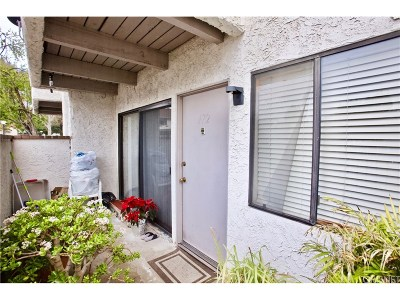 Newhall Condo/Townhouse For Sale: 25031 Peachland Avenue #172