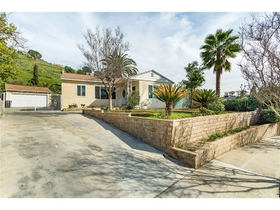 Burbank Single Family Home For Sale: 2808 Mansfield Drive