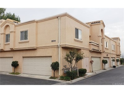 Stevenson Ranch Condo/Townhouse Active Under Contract: 25114 Steinbeck Avenue #G