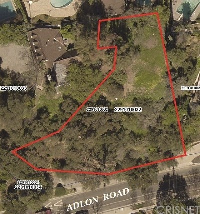 Encino Residential Lots & Land For Sale: 16835 Adlon Road