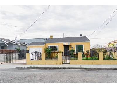 Compton Single Family Home For Sale: 818 West Cedar Street