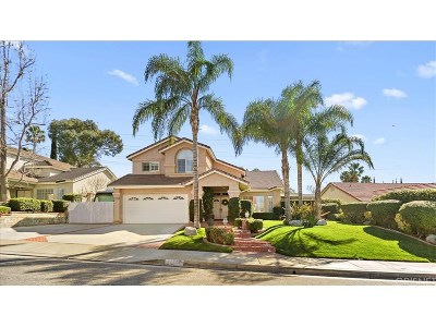 Saugus Single Family Home For Sale: 22448 Poplar Street