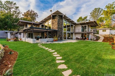 Calabasas CA Single Family Home Active Under Contract: $1,550,000