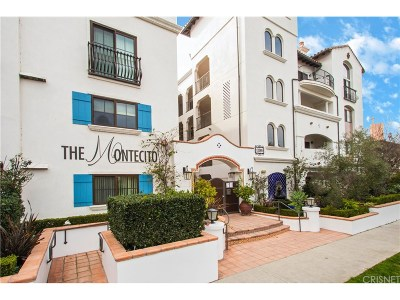 Sherman Oaks Condo/Townhouse Active Under Contract: 13308 Valleyheart Drive #101