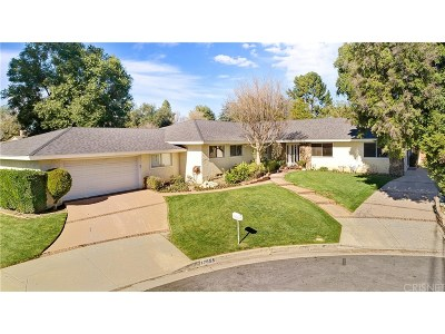 Northridge Single Family Home Active Under Contract: 17655 Dearborn Street
