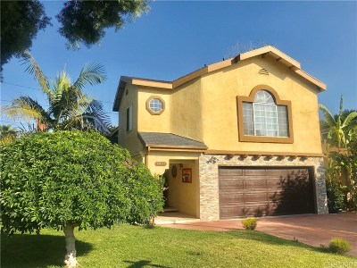 Encino Single Family Home For Sale: 6320 Yarmouth Avenue