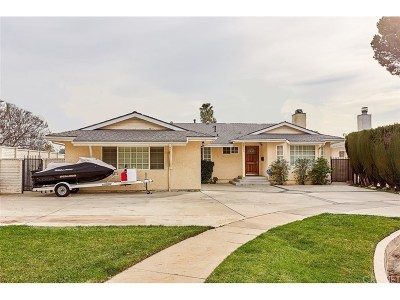 Northridge Single Family Home For Sale: 18900 Knapp Street