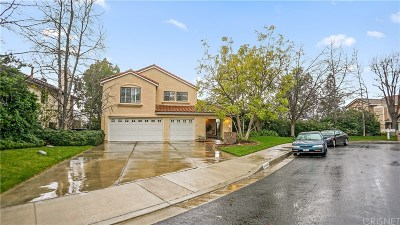 Newhall Single Family Home For Sale: 23470 Glenridge Drive