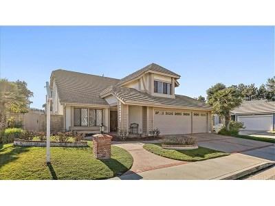 Valencia Single Family Home Active Under Contract: 25523 Via Dona Christa