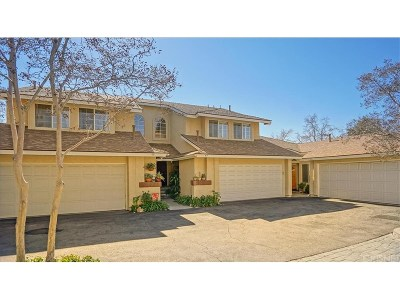 Saugus Condo/Townhouse Active Under Contract: 28145 Seco Canyon Road #44