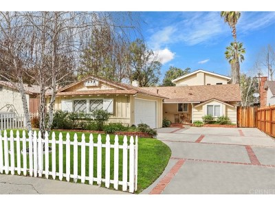 Woodland Hills Single Family Home Active Under Contract: 22041 Independencia Street