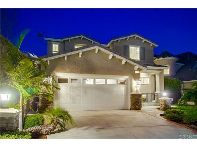 Porter Ranch Single Family Home For Sale: 20751 Bergamo Way