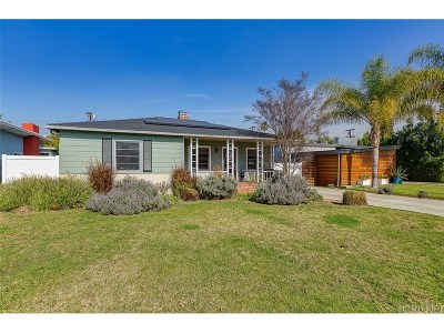 Sherman Oaks Single Family Home Sold: 14549 Hesby Street