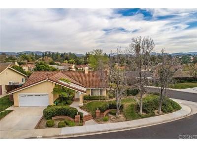 Thousand Oaks Single Family Home For Sale: 272 Cedar Heights Drive
