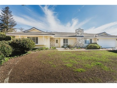 Thousand Oaks Single Family Home Active Under Contract: 366 Somerset Circle