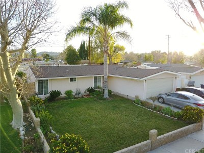 Canyon Country Single Family Home Active Under Contract: 19124 Drycliff Street