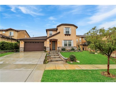 Saugus Single Family Home For Sale: 26462 Woodstone Place