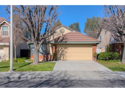 Canyon Country Single Family Home Active Under Contract: 19811 Collins Road
