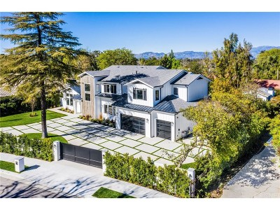 Tarzana Single Family Home Active Under Contract: 19173 Wells Drive