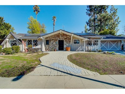 Woodland Hills Single Family Home Sold: 4740 Deseret Drive