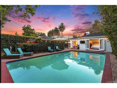 Studio City Single Family Home Sold: 4386 Camellia Avenue