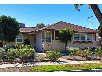 North Hills Single Family Home Active Under Contract: 15840 Mayall Street