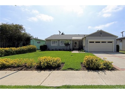 Encino Single Family Home Sold: 5933 Graves Avenue
