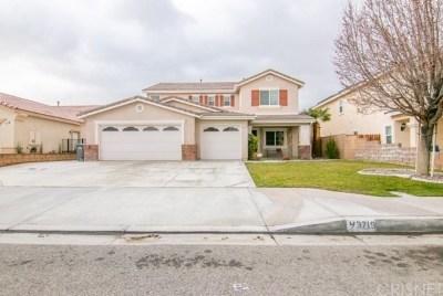 Lancaster Single Family Home For Sale: 43719 Paloma Street