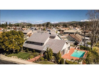 Westlake Village Single Family Home For Sale: 3900 Freshwind Circle