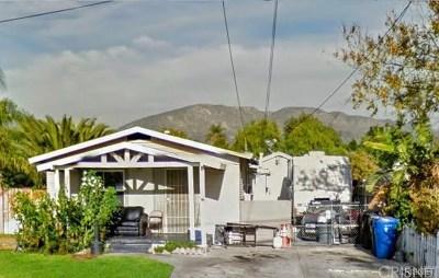 San Fernando Single Family Home For Sale: 1133 8th Street