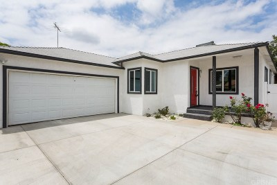 Encino Single Family Home For Sale: 17627 Bessemer Street