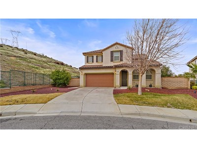 Palmdale Single Family Home Active Under Contract: 2901 Osmunda Court