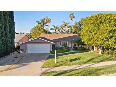 Mission Hills San Fernando Single Family Home For Sale: 15215 Tuba Street