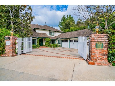 Encino Single Family Home Sold: 17137 Addison Street