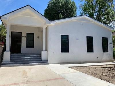 Tarzana Single Family Home For Sale: 5522 Sylvia Avenue