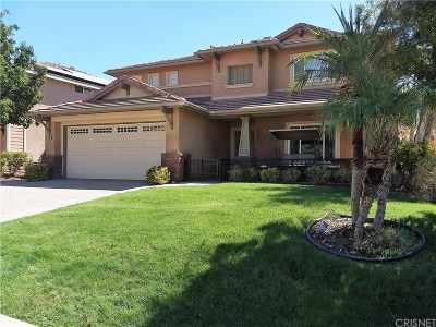 Saugus Single Family Home For Sale: 21168 Lone Star Way
