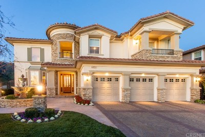 Porter Ranch Single Family Home Active Under Contract: 20441 Via Botticelli