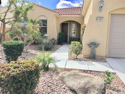 Indio Single Family Home For Sale: 81581 Camino Los Milagros