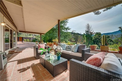 Calabasas CA Single Family Home For Sale: $1,175,000