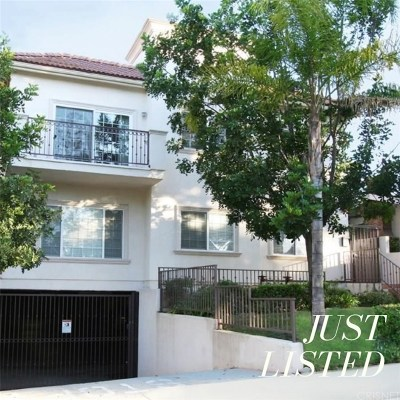 Burbank Condo/Townhouse For Sale: 715 East Angeleno Avenue #103