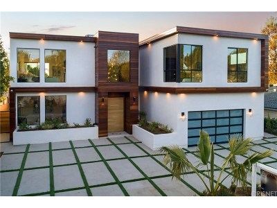 Encino Single Family Home For Sale: 4841 Alonzo Avenue