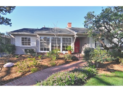 Sherman Oaks Single Family Home Active Under Contract: 4513 Nagle Avenue