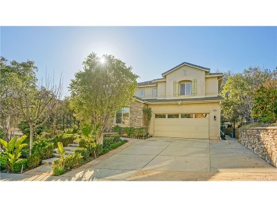 Canyon Country Single Family Home For Sale: 28361 Falcon Crest Drive