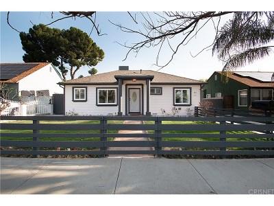 San Fernando Single Family Home For Sale: 300 North Huntington Street