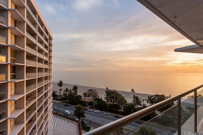 Santa Monica Condo/Townhouse For Sale: 201 Ocean #1404P