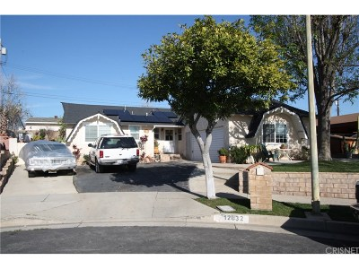 Sylmar Single Family Home For Sale: 12832 Bromont Avenue