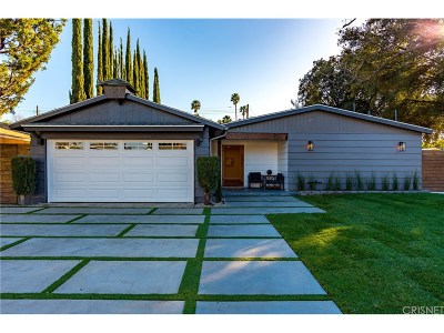 Woodland Hills Single Family Home Sold: 6200 Jackie Avenue
