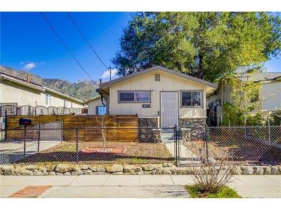 Tujunga Single Family Home Active Under Contract: 10616 Wilsey Avenue